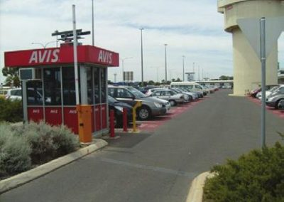 Boom Gates Adelaide Airport