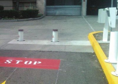 Car park automatic bollards Melbourne